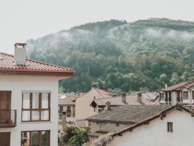 Vista pueblo Ezcaray