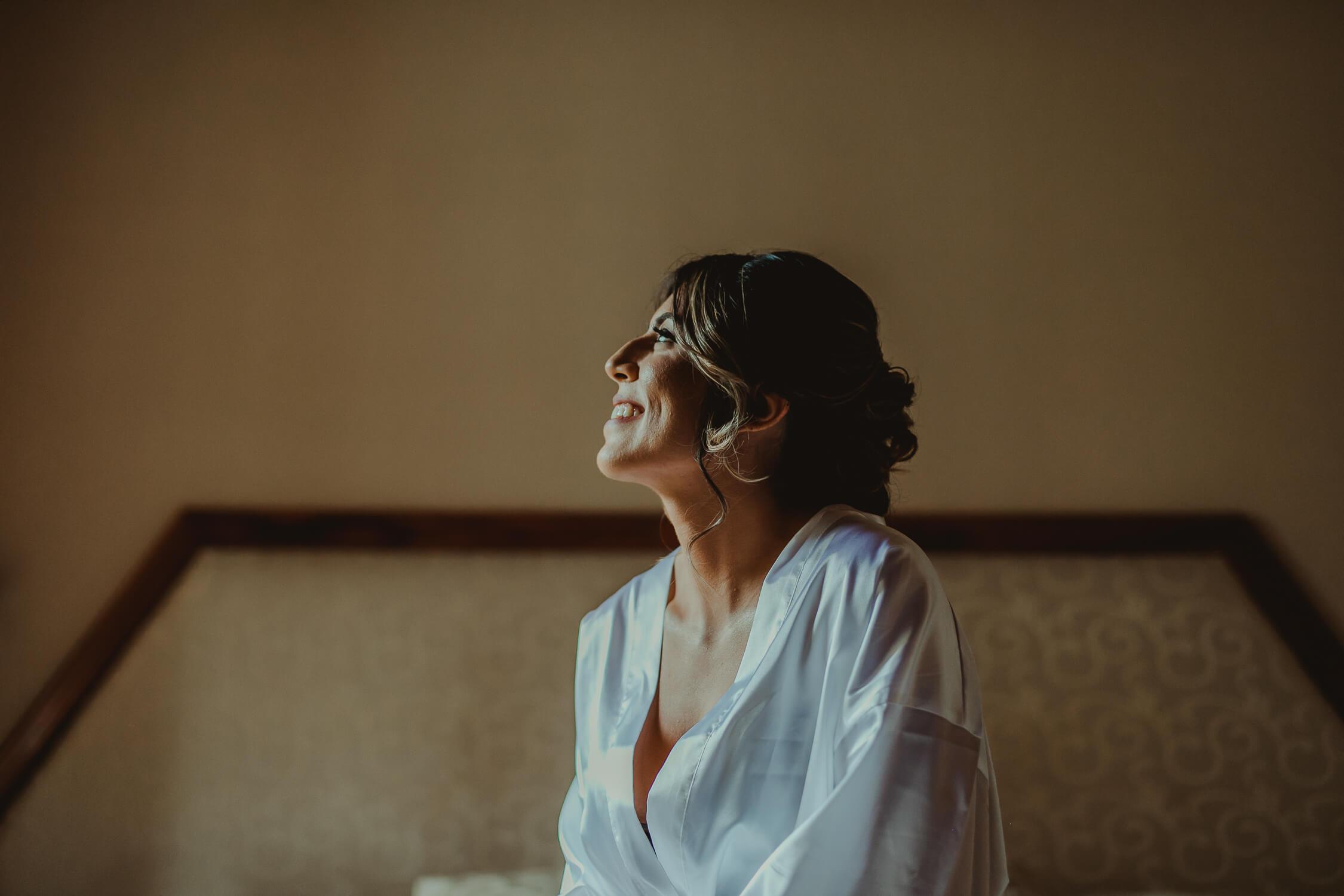 novia sonriendo boda costa rica