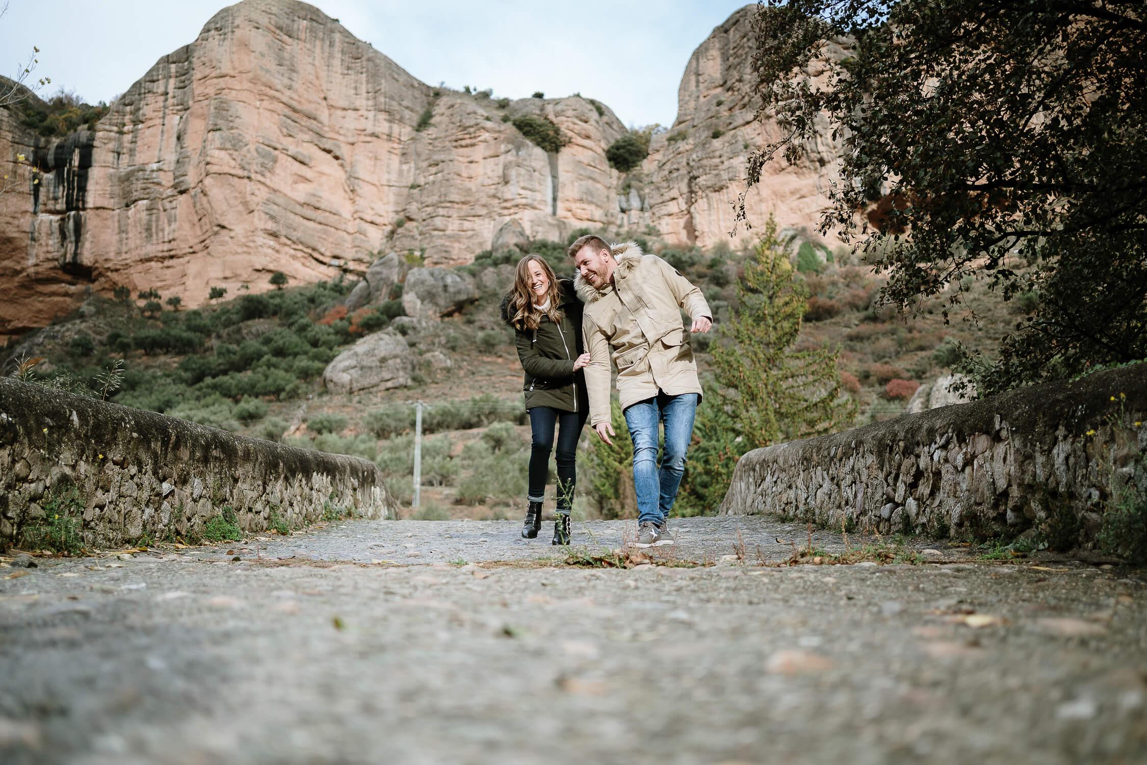 Preboda en la sierra cebollera La Rioja